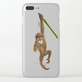 Hanging out Clear iPhone Case