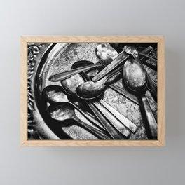Spooning Framed Mini Art Print