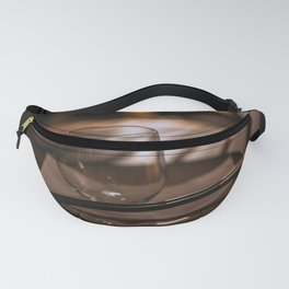 Glass and Chopsticks Fanny Pack