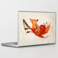 brand new Laptop & iPad Skins featuring Vulpes vulpes by Robert Farkas