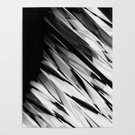 Abstract Pattern B&W1 Poster