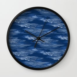 Scribbling pen Wall Clock