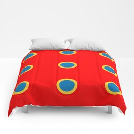 Dotted in Red Comforters