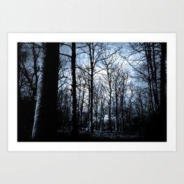 The Haunted Wood  Art Print
