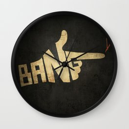 See You Space Cowboy... Wall Clock