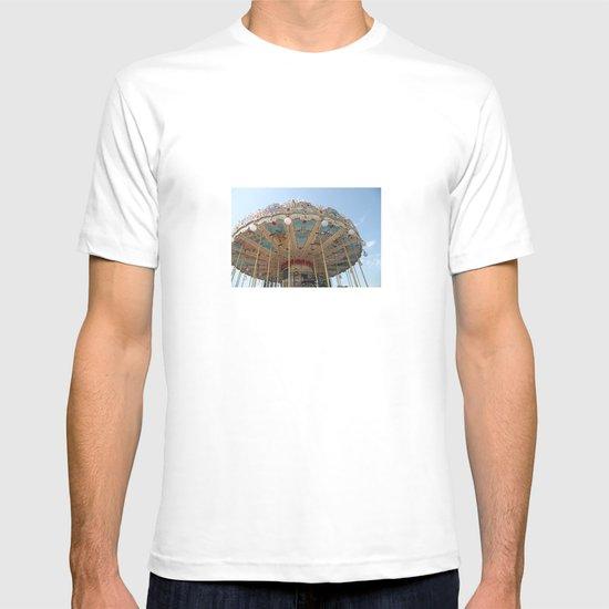 paris carousel T-shirt