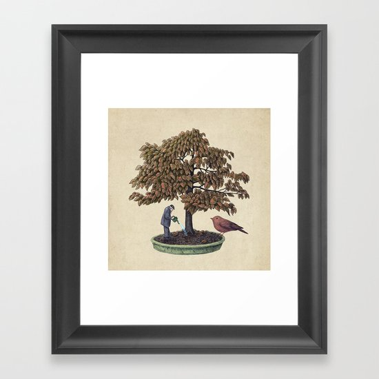 Enchanted Bonsai Framed Art Print