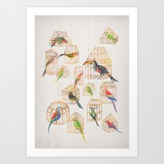 Architectural Aviary Art Print