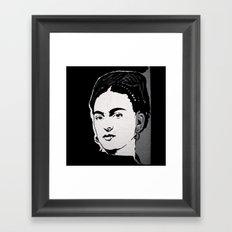 FRIDA - LIFE CURRENT WALL series... Framed Art Print