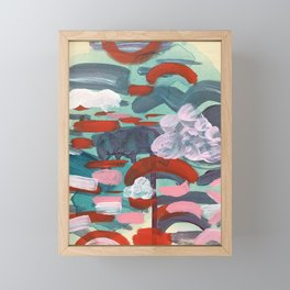 Our Own Piece of Earth Framed Mini Art Print