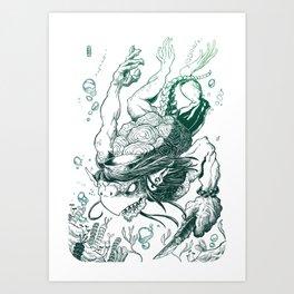 Kappa Art Print