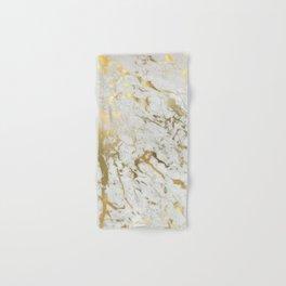 Gold marble Hand & Bath Towel