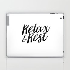 RELAX AND REST Laptop & iPad Skin