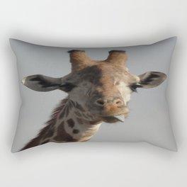 Silly Twiga!  Rectangular Pillow