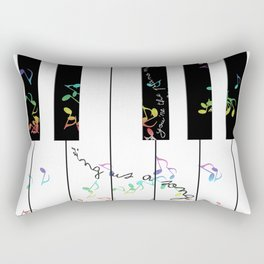 sing us a song tonight Rectangular Pillow