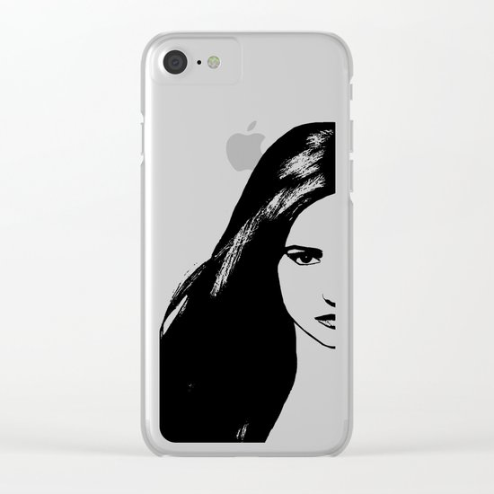 Vampire Diaries Clear iPhone Case