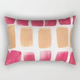 25   190321 Watercolour Abstract Painting Rectangular Pillow