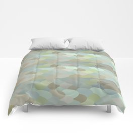 Dragon leaf scales Comforters