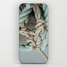 TIED TO THE MOORING #1 iPhone & iPod Skin