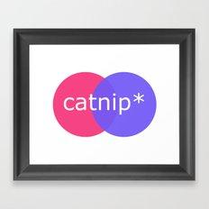 catnip Framed Art Print