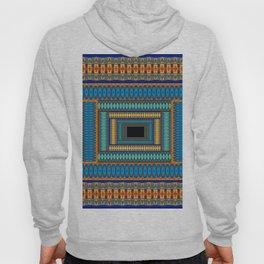 Soul Portal Geometric Print Hoody