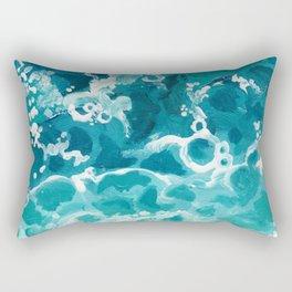 wild waters Rectangular Pillow