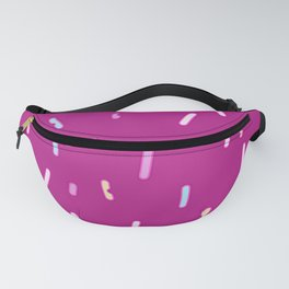 Chatty Red Design Fanny Pack