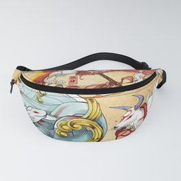 Okami All 13 signs Fanny Pack