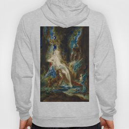 """Gustave Moreau """"La fée aux Griffons (The Fairy with Griffons)"""" Hoody"""