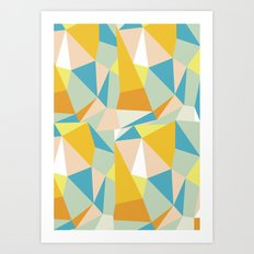 Triangular spectrum Art Print