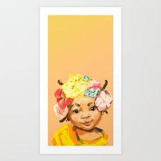 I'm Princess, too Art Print