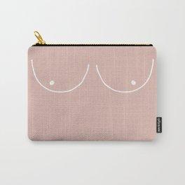 peach boobs Carry-All Pouch