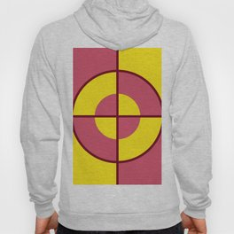 Target  yellow Goal  geometric style - Spring Fashion  - forms Hoody