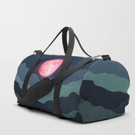 Pink moon Duffle Bag