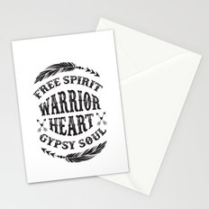 Warrior Heart Stationery Cards