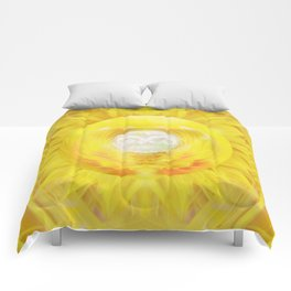 Gold In My Belly (Solar Plexus Chakra) Comforters