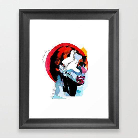 girl_220512 Framed Art Print