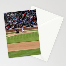 chicago cubs // wrigley field Stationery Cards
