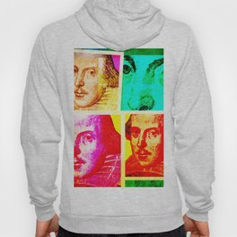 WILLIAM SHAKESPEARE (COLOURFUL POP ART COLLAGE) Hoody