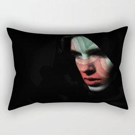 Portrait divisionism Rectangular Pillow