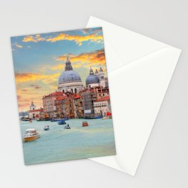 Grand Canal in Venice, Italy Stationery Cards