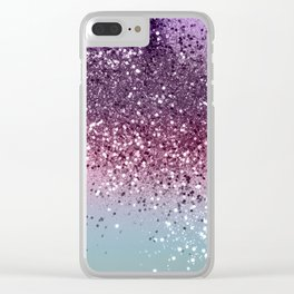 Unicorn Girls Glitter #6 #shiny #pastel #decor #art #society6 Clear iPhone Case