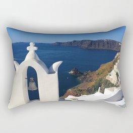 Oia, Greece (photo) Rectangular Pillow