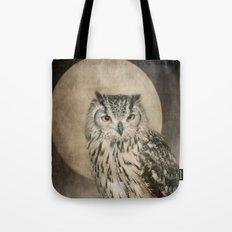 Tawny Brown Owl Tote Bag