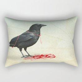 freedom  _ black crow Rectangular Pillow