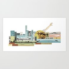 Arm Hopper Art Print