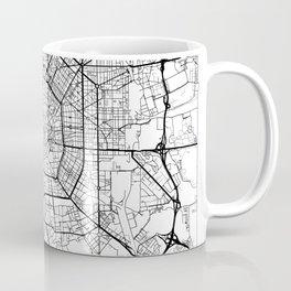 Milan Map White Coffee Mug