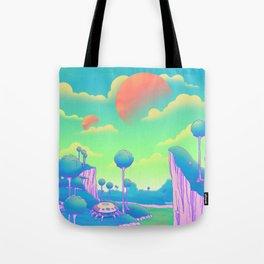 Planet Namek Tote Bag
