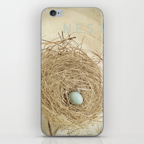 Petit Nest iPhone & iPod Skin