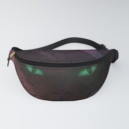 Watching Cat Fanny Pack